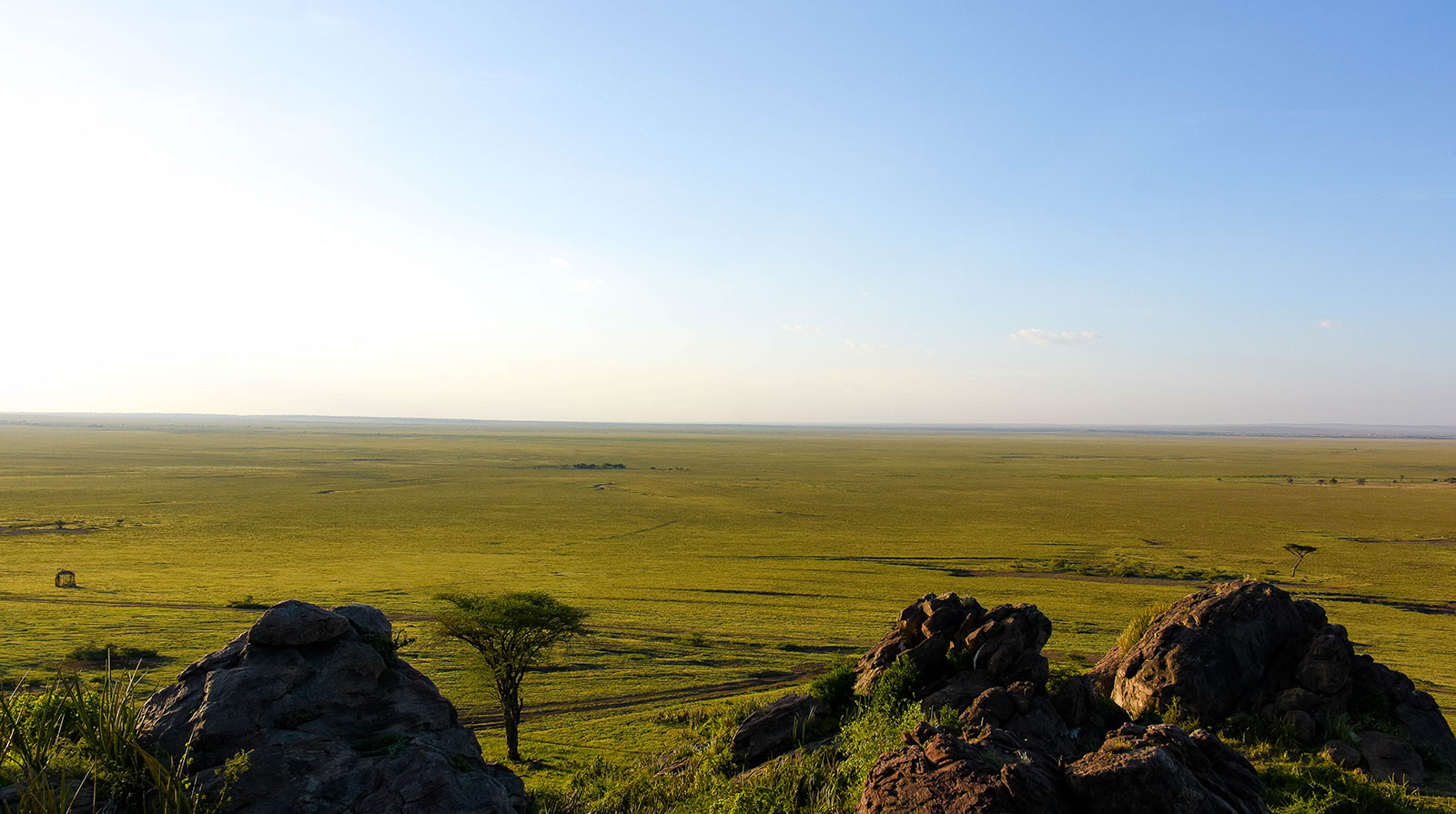 Olduvai Ngodo - Endless views